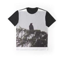 Blackbird on a tree Graphic T-Shirt