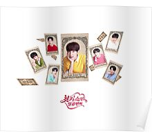 7 times 1st kiss - Lee Min Ho, Ji Chang Wook, Park Hye Jin, Kai, Lee Joon Ki, Taecyeon, Lee Jong Suk Poster