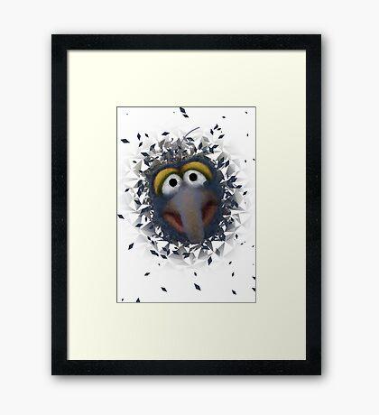 Gonzo Framed Print