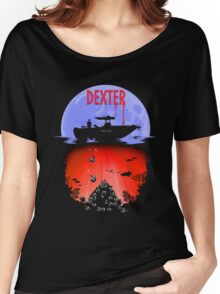 Dexter - Into the Bloody Depths Variant Women's Relaxed Fit T-Shirt