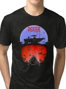 Dexter - Into the Bloody Depths Variant Tri-blend T-Shirt
