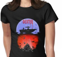 Dexter - Into the Bloody Depths Variant Womens Fitted T-Shirt