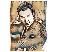 Benedict Cumberbatch Painting Poster