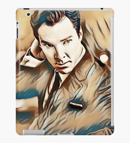 Benedict Cumberbatch Painting iPad Case/Skin