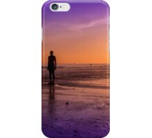 Tranquillity at Crosby Beach iPhone Case/Skin