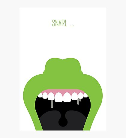 Ghostbusters Minimalist Series - Slimer Photographic Print