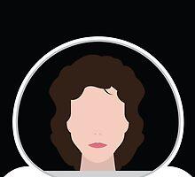 Alien Minimalist Series - Ripley by fabriqueposters