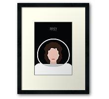 Alien Minimalist Series - Ripley Framed Print