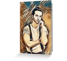 Andrew Scott Painting Greeting Card