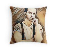 Andrew Scott Painting Throw Pillow