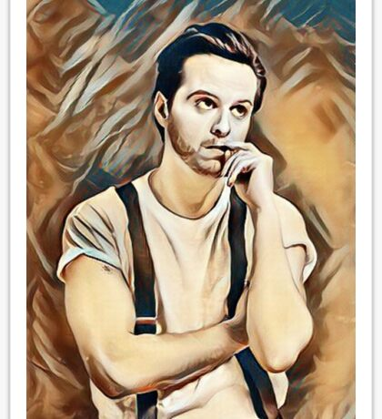 Andrew Scott Painting Sticker
