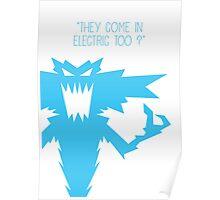 Gremlins Minimalist Series - Lightning Gremlin Poster