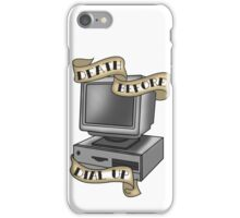 Death Before Dial Up iPhone Case/Skin