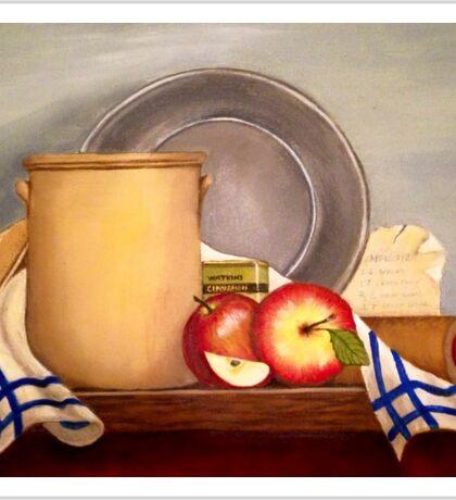 Baking apple pie  Sticker