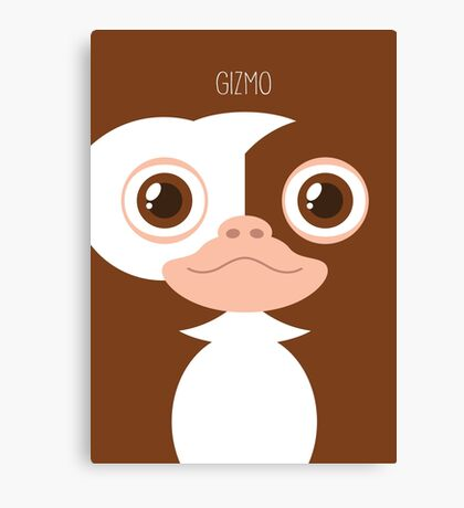 Gremlins Minimalist Series - Gizmo Canvas Print