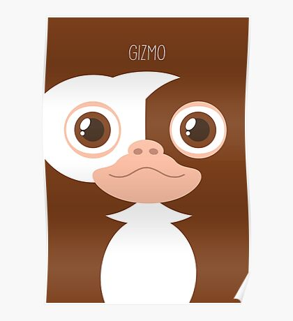 Gremlins Minimalist Series - Gizmo Poster