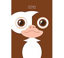 Gremlins Minimalist Series - Gizmo Photographic Print