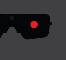 Terminator Minimalist Series - Terminator by fabriqueposters