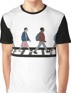 Stranger Abbey Road Graphic T-Shirt