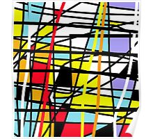 Casual abstraction Poster