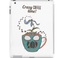 Crazy Coffee Mug iPad Case/Skin