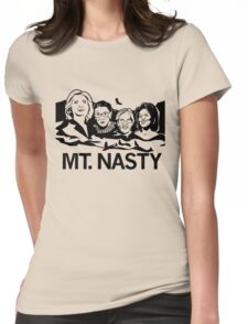 MT nasty Womens Fitted T-Shirt