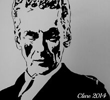The 12th Doctor Who/Peter Capaldi  by Clare Shailes