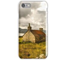 Ruined cottage in scenic Scotland iPhone Case/Skin