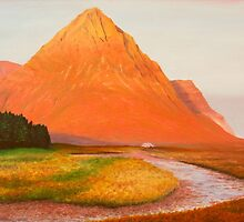 The Buachaille At Dawn by Richard Paul