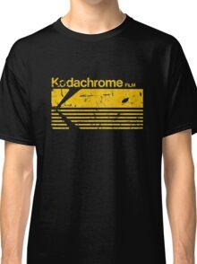 Vintage Photography: Kodak Kodachrome - Yellow Classic T-Shirt