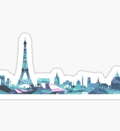 Paris Skyline Sticker