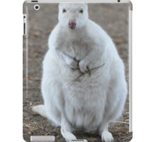 White Wallaby iPad Case/Skin