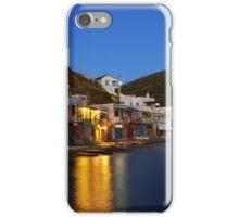 Klima village, Milos island iPhone Case/Skin