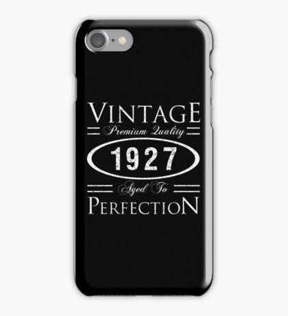 1927 Premium Quality iPhone Case/Skin
