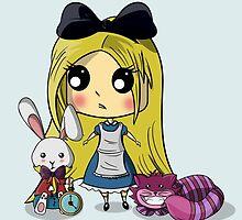 Cute Alice in Wonderland by itslexatchison
