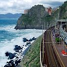 Cinque Terre by train by Arie Koene
