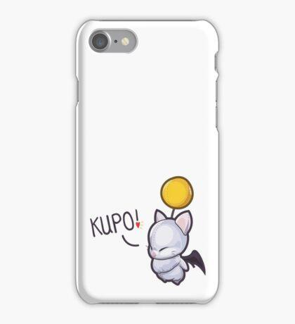 Wind-Up Moogle – 'Kupo!' iPhone Case/Skin