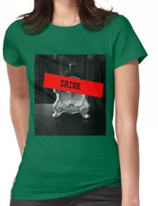 DRINK Womens Fitted T-Shirt