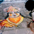 Street art Indian style by indiafrank
