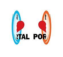 I love Portal! Photographic Print