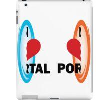 I love Portal! iPad Case/Skin