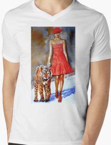 Catwalk Mens V-Neck T-Shirt