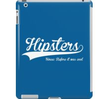 Hipsters-White Logo iPad Case/Skin