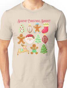 Baking Christmas Bright Unisex T-Shirt