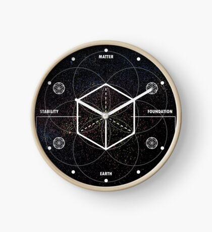 HEXAHEDRON-STABILITY Clock