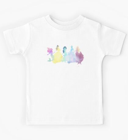 The Colors of the Princesses Kids Tee
