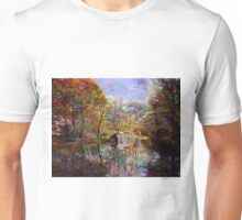NARROWBOAT ON THE TRENT & MERSEY CANAL Unisex T-Shirt