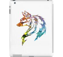 Trippy Tribal Wolf/Fox iPad Case/Skin