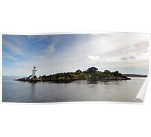 Hells Gate Lighthouse - Macquarie Harbour - Tasmania Poster