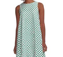 Lush Meadow Polka Dots A-Line Dress